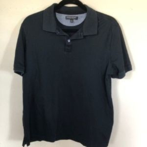 BANANA REPUBLIC Black Polo